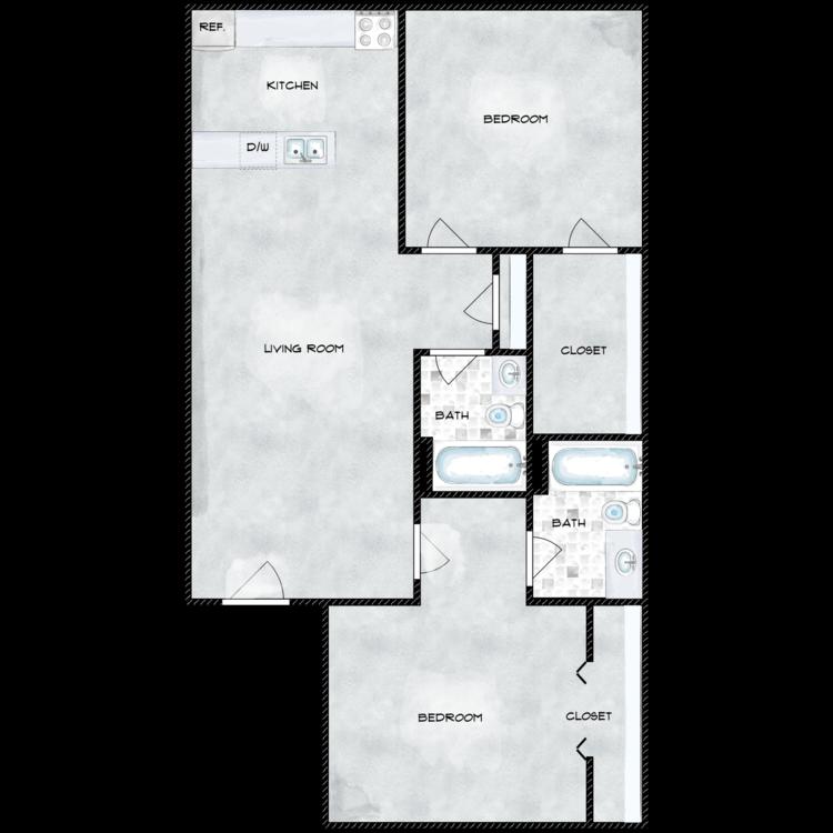 982 floor plan image