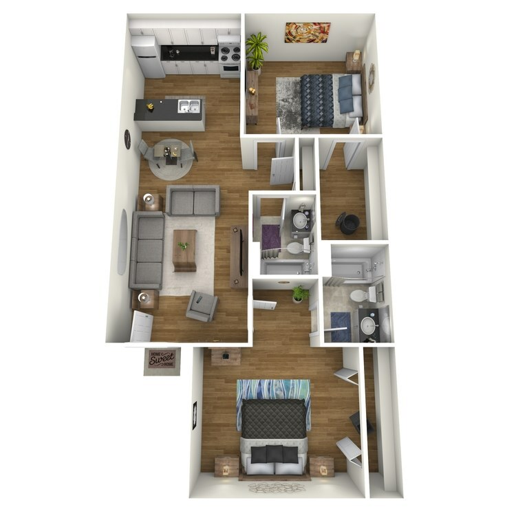 982 floor plan image