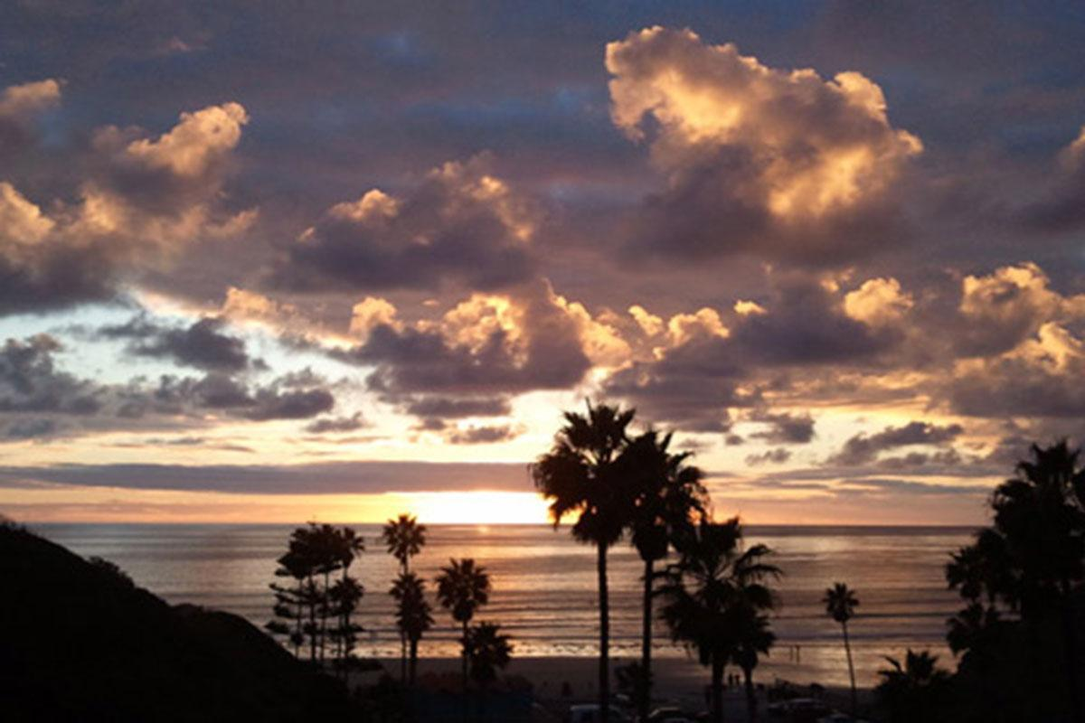 Spectacular sunsets await at Casa Del Sur in San Diego, California