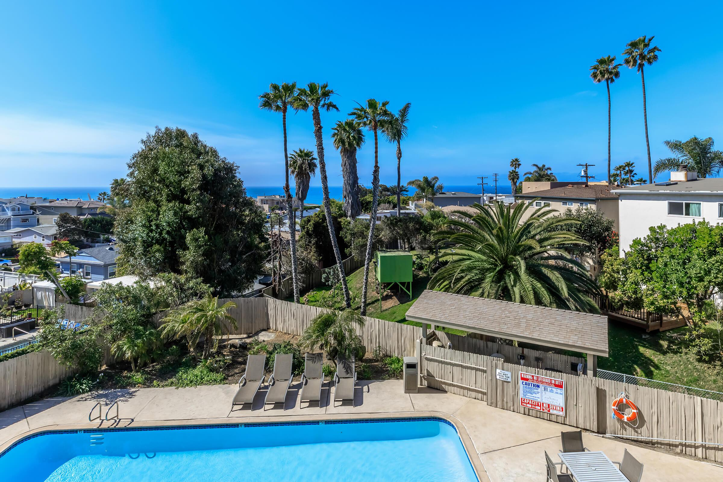 Stunning views at Casa Del Sur in San Diego, CA