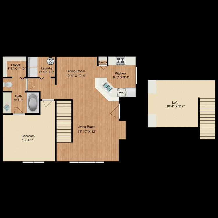 Floor plan image of The Grammercy