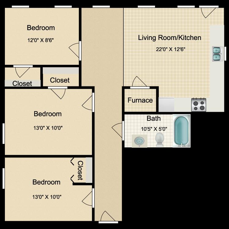 Floor plan image of OT11