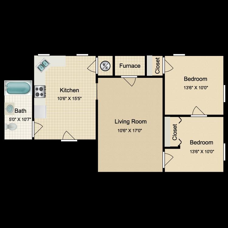 Floor plan image of OT12