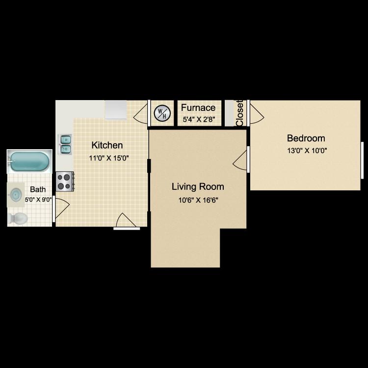 Floor plan image of OT1