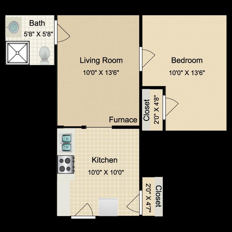 Floor plan image of OT4