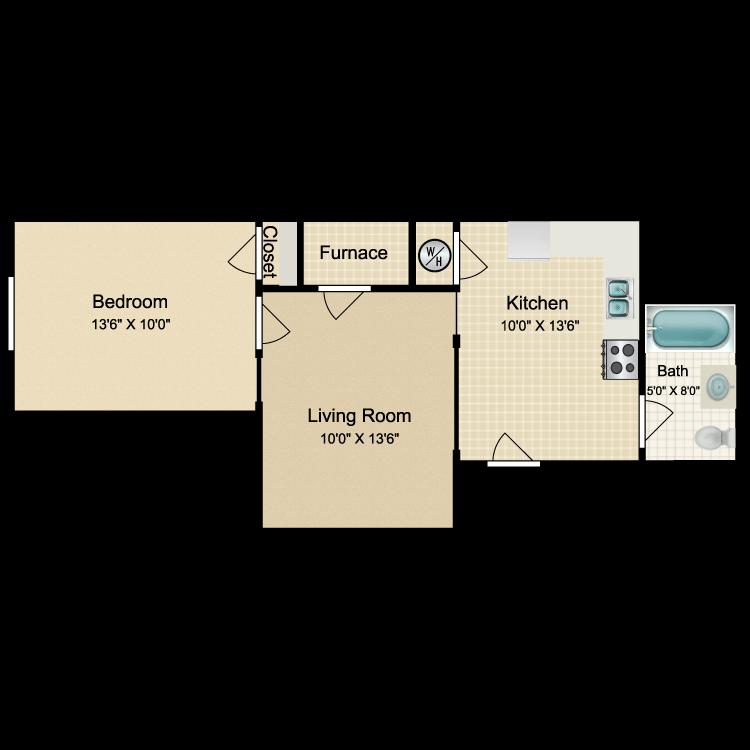 Floor plan image of OT5