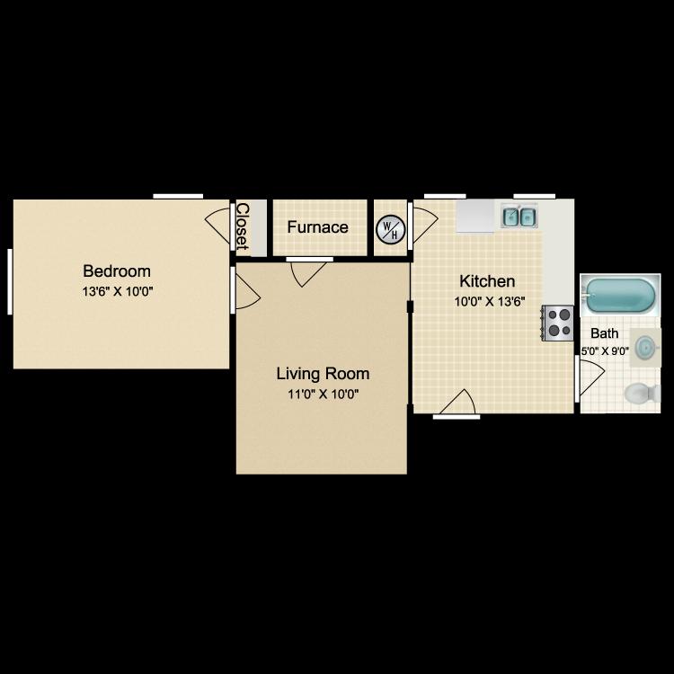 Floor plan image of OT8