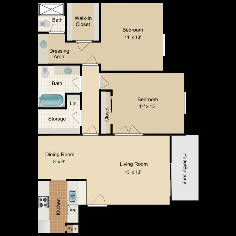 Floor plan image of Innsbruck