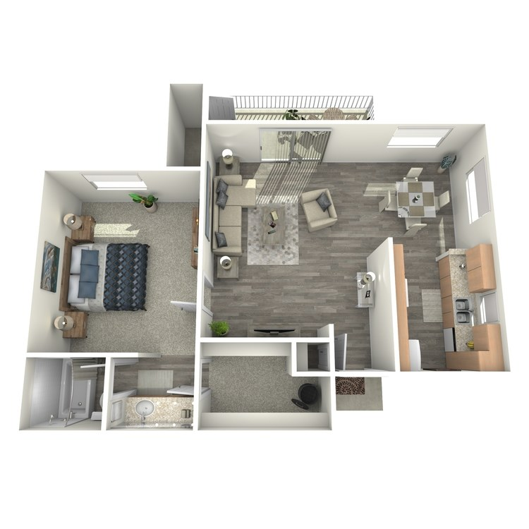 Floor plan image of Aspen