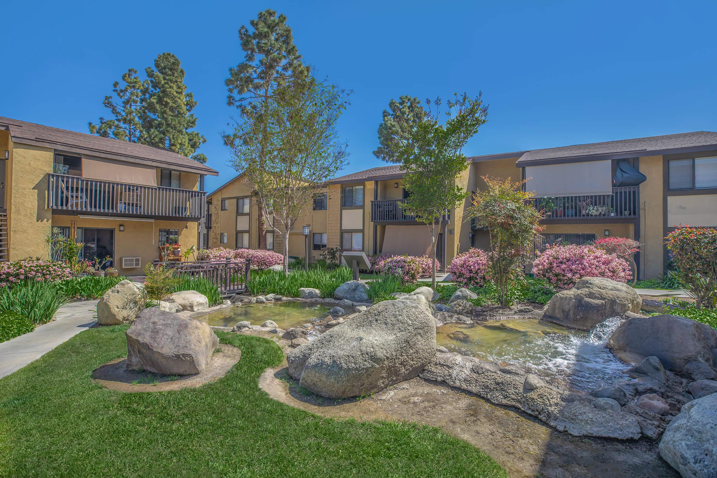 WELCOME HOME TO PINECREEK VILLAGE APARTMENTS IN COSTA MESA, CA