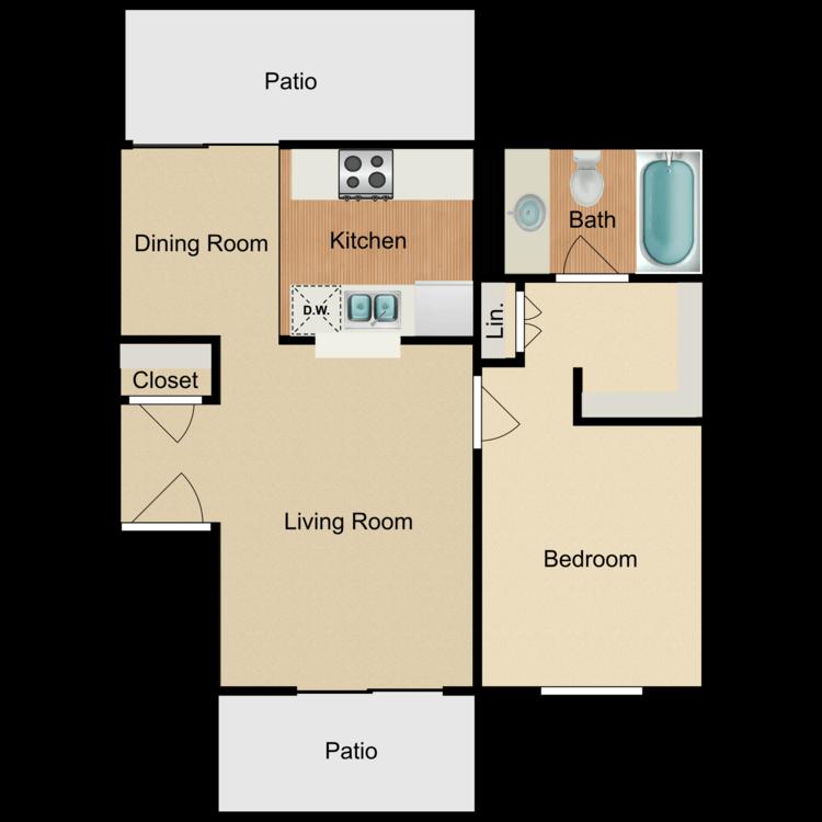 Floor plan image of Plan 1