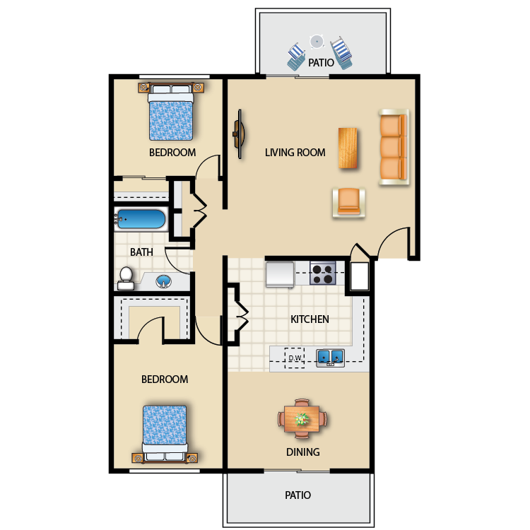 Plan 2 floor plan image