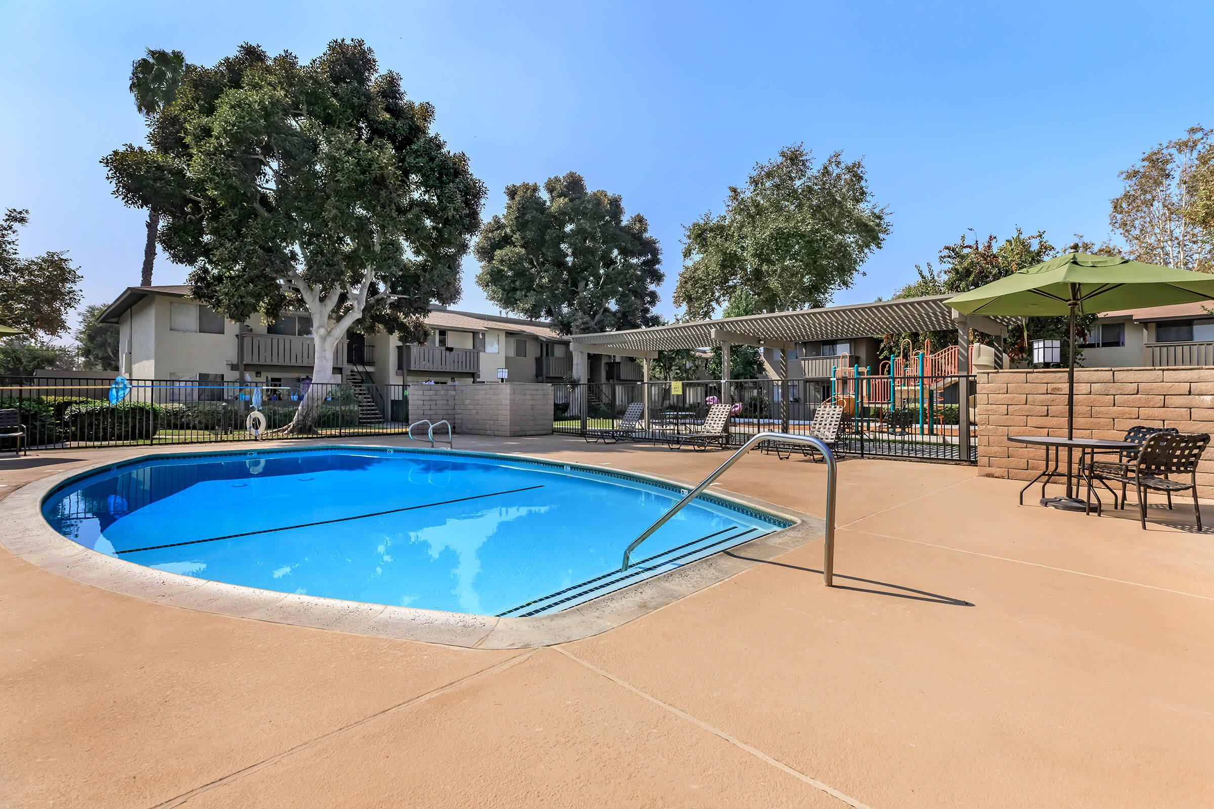 Meadowood Place Apartment Homes community pool