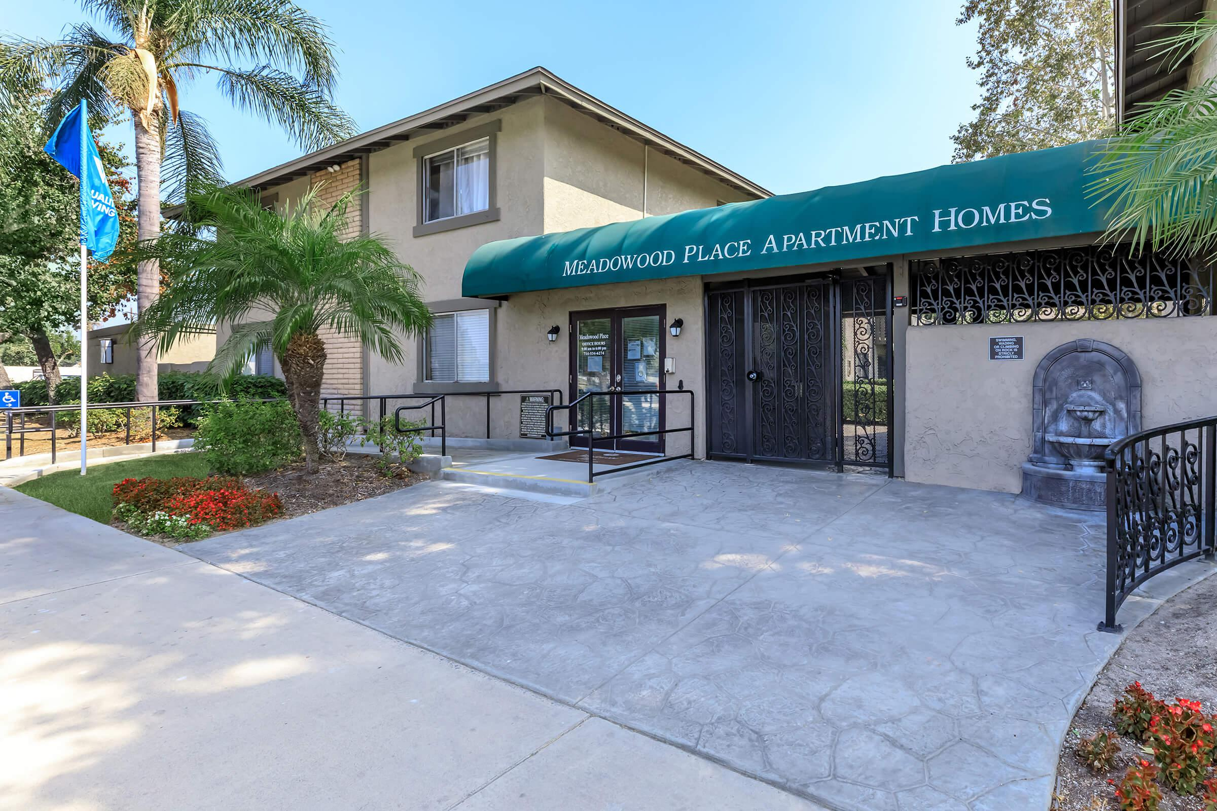 Meadowood Place Apartment Homes leasing office