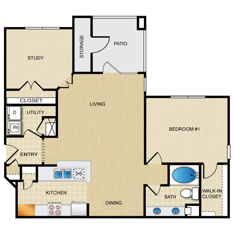Floor plan image of Bella