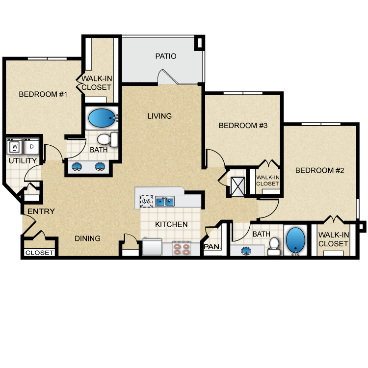 Floor plan image of Corin