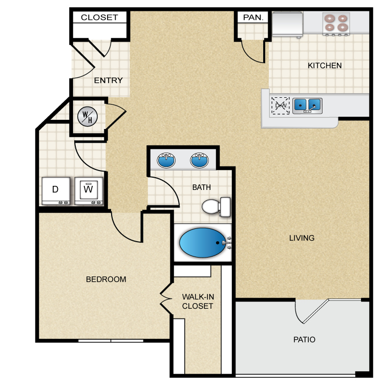 Floor plan image of Edmund