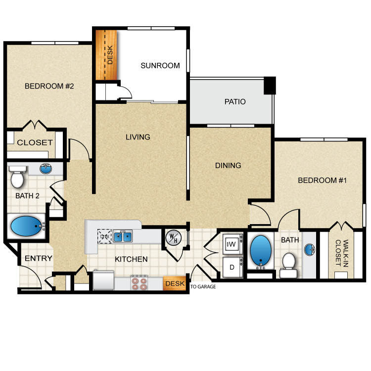 Floor plan image of Ethan