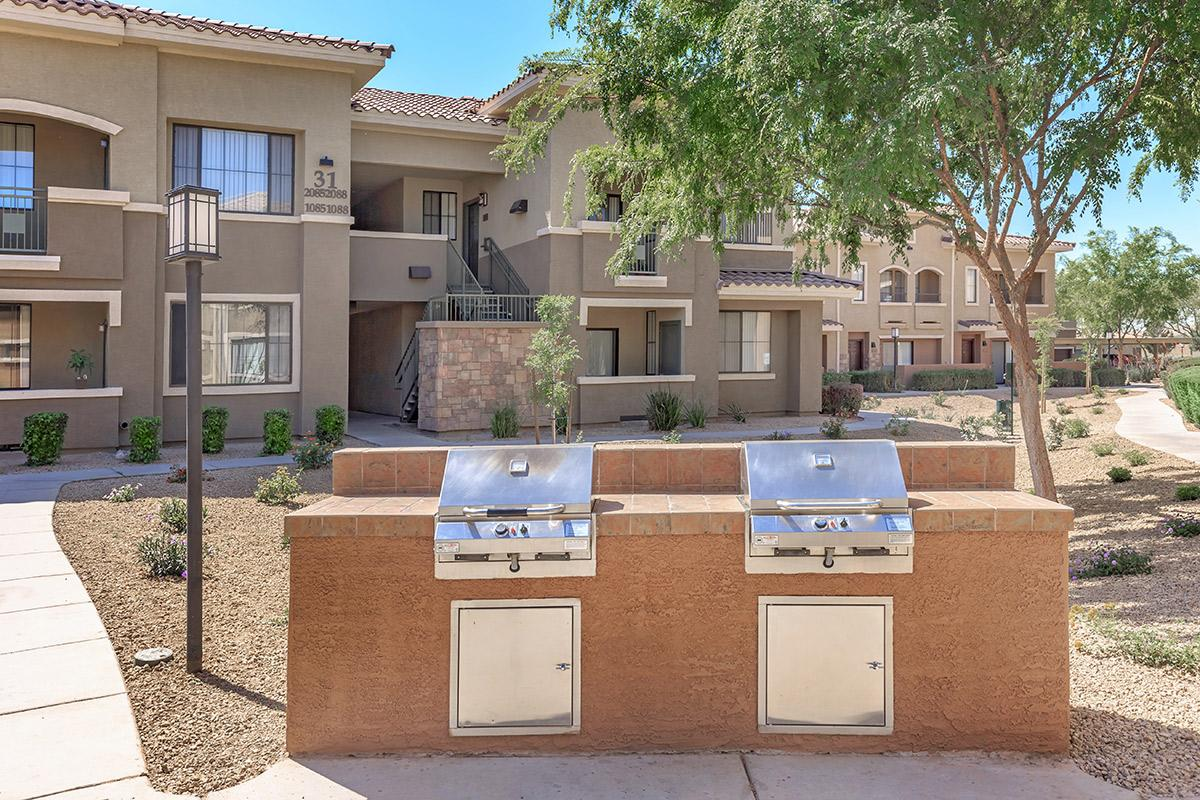 Barbecue Plazas at The Paseo Apartments in Goodyear, Arizona