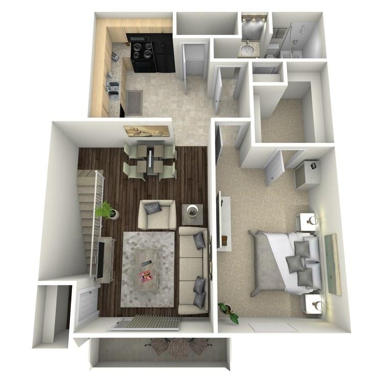 Floor plan image of Poppy II