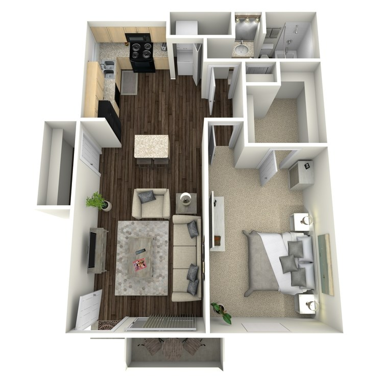 Floor plan image of Lily I