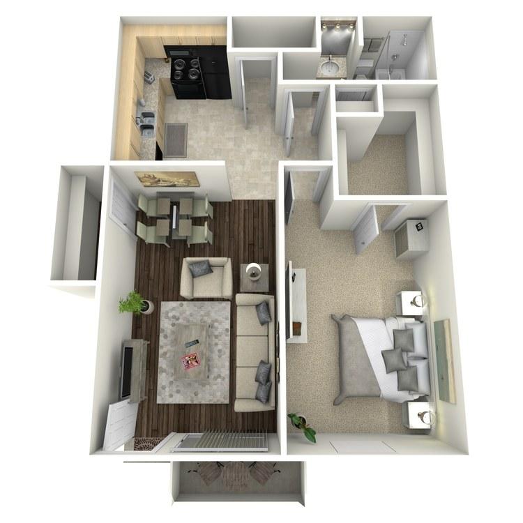 Floor plan image of Poppy I