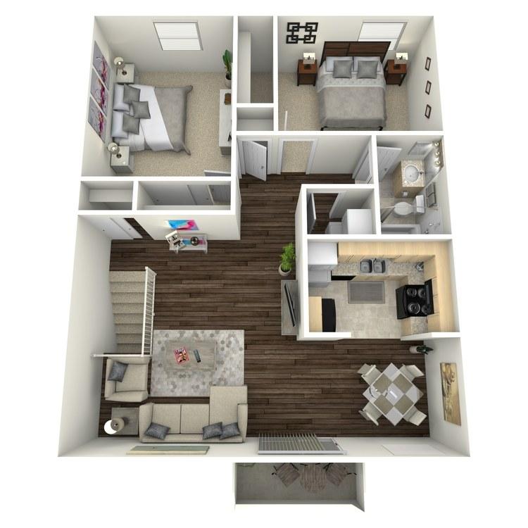 Floor plan image of Blue Bonnet II