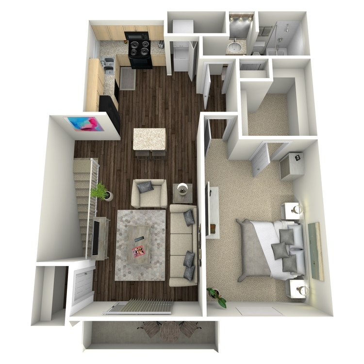 Floor plan image of Lily II