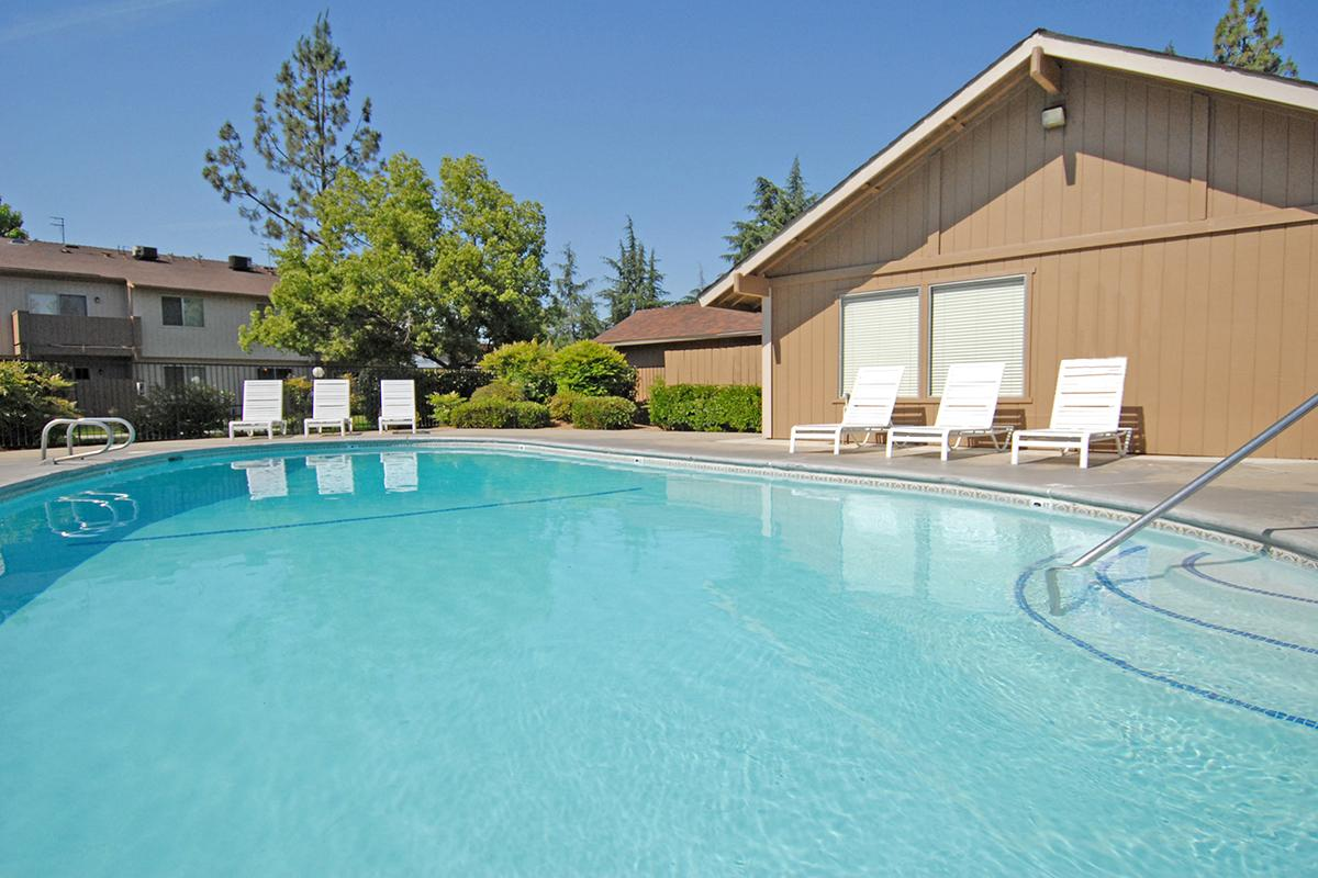 This is the pool at Valley View Apartment Homes