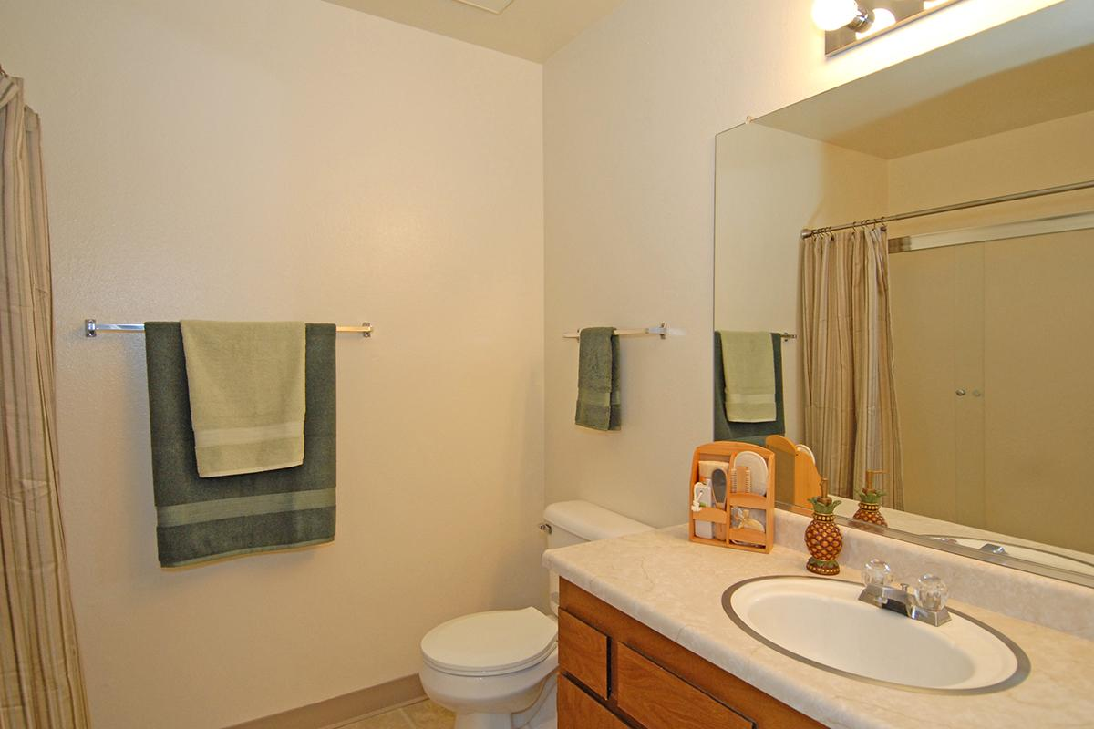 Valley View Apartment Homes has modern bathrooms