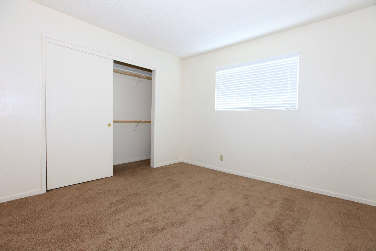 Valley View Apartment Homes offers vertical blinds
