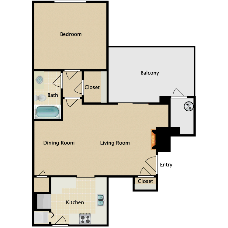 Floor plan image of Almondwood
