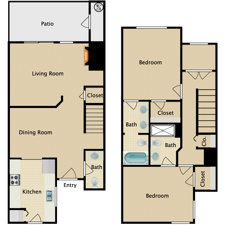 Floor plan image of Evergreen