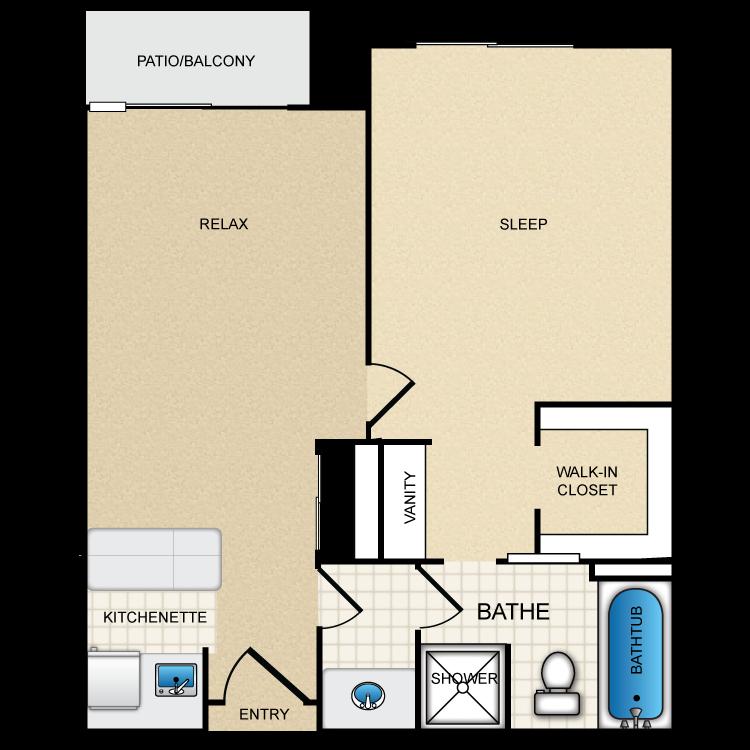 Floor plan image of St. Moritz