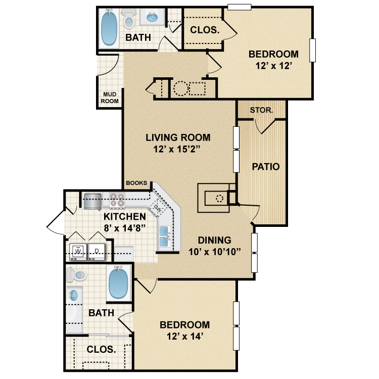 Floor plan image of Windsor