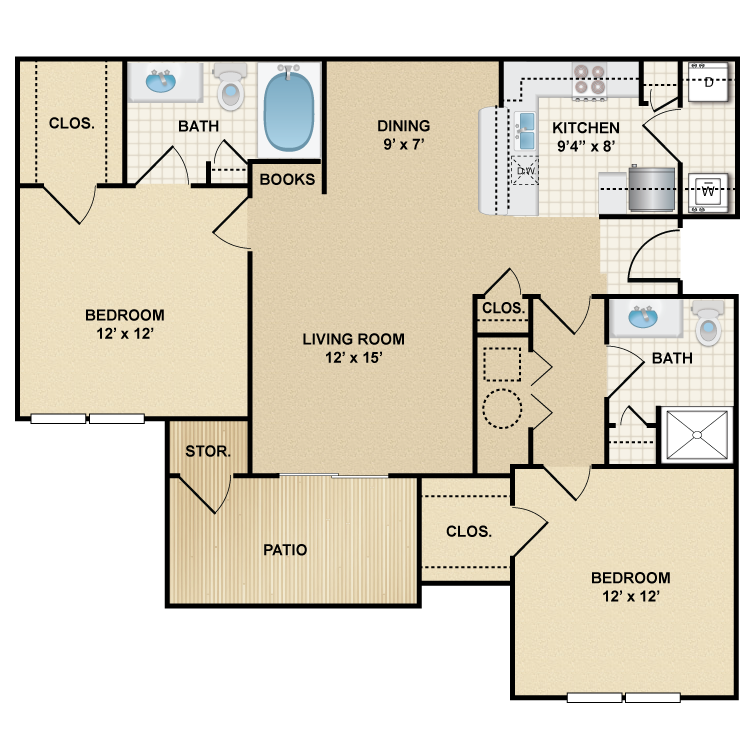 Floor plan image of Yorkshire