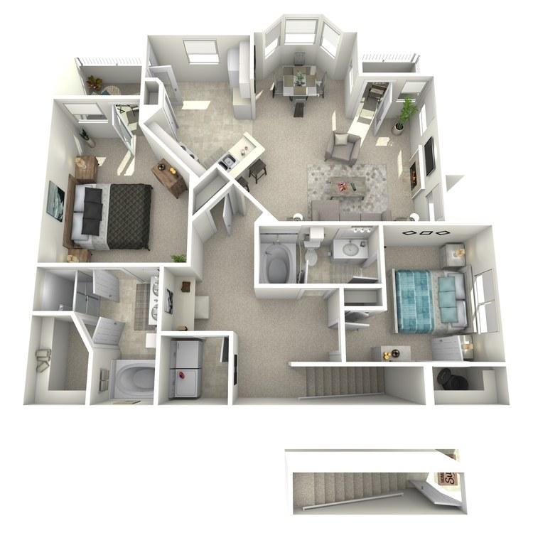 Floor plan image of Raphael - Upper