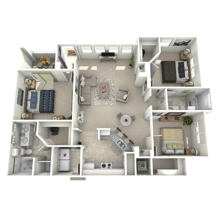 Floor plan image of Renoir - Lower