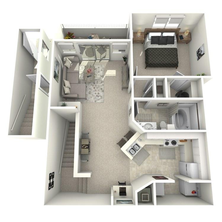 Floor plan image of Monet - Upper