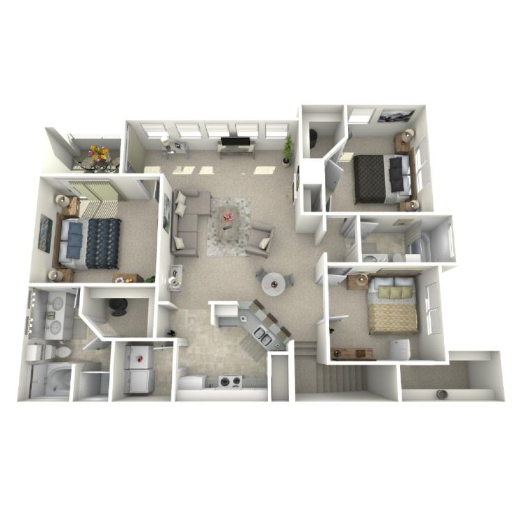 Floor plan image of Renoir - Upper