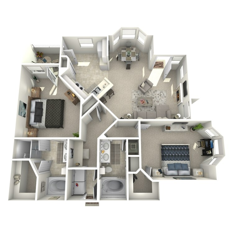 Floor plan image of Raphael - Lower