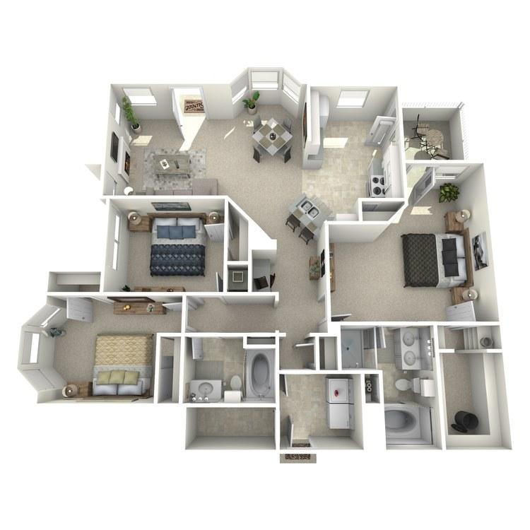 Floor plan image of DaVinci - Lower