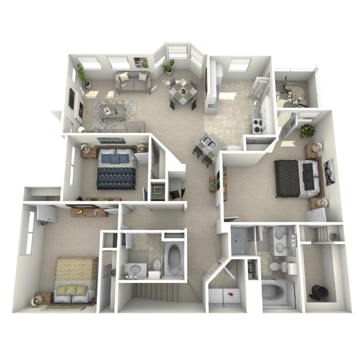 Floor plan image of DaVinci - Upper