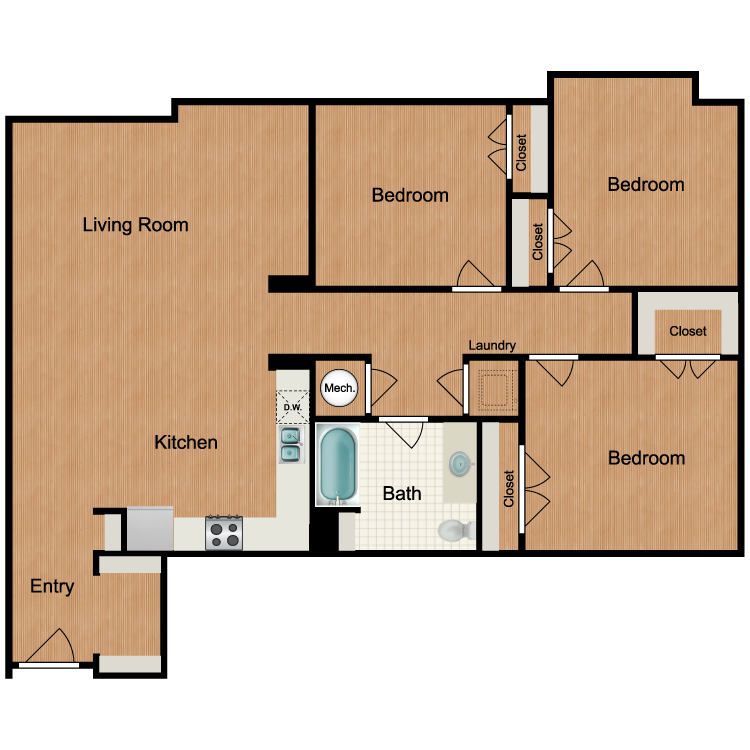 Floor plan image of Montage