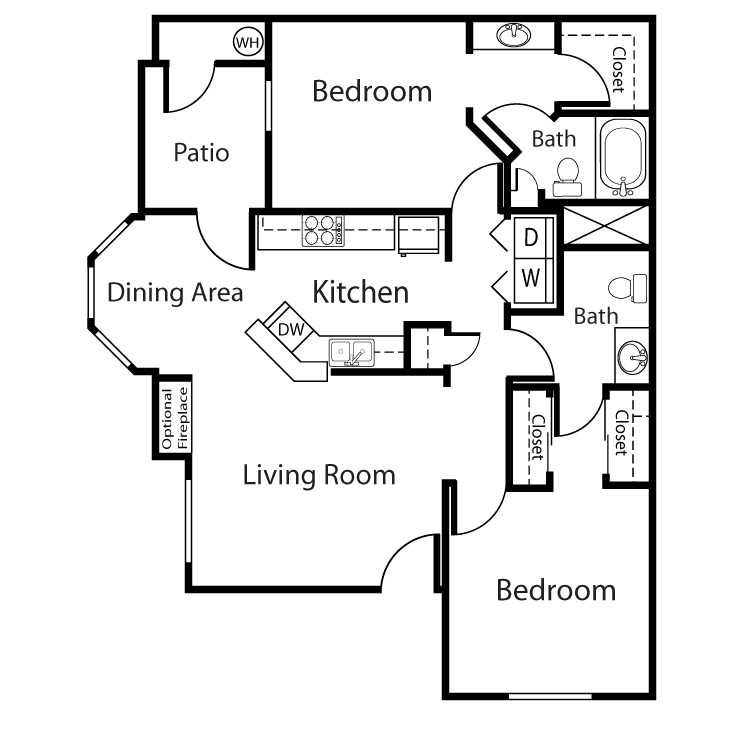 Floor plan image of Lantana