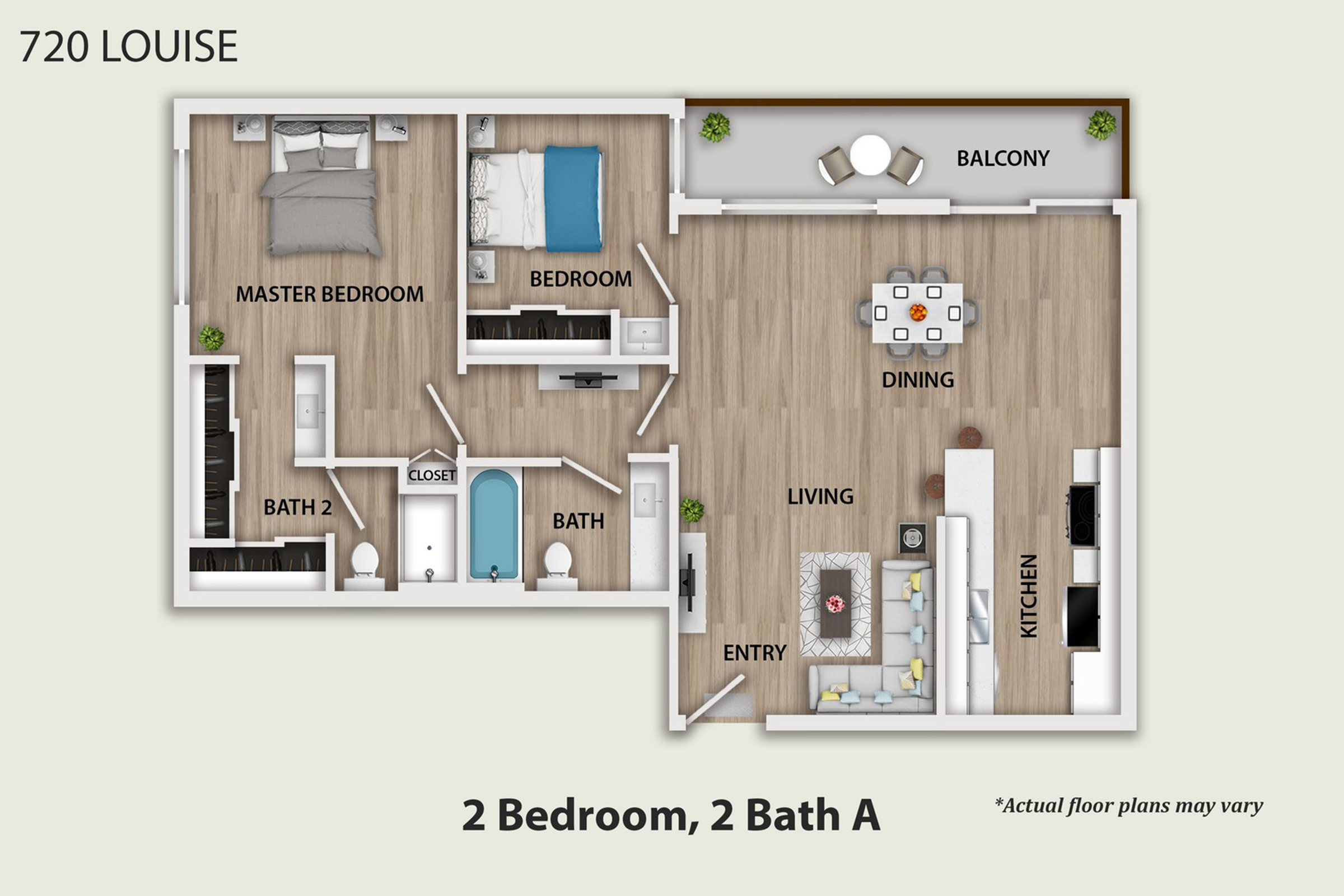 Two bedrooms for rent in Glendale, CA