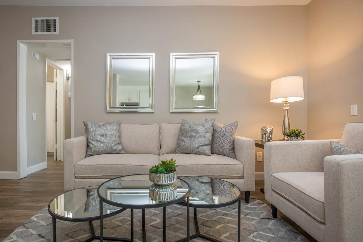 Apartments for Rent in Glendale CA -  Louise Living Room for Entertaining
