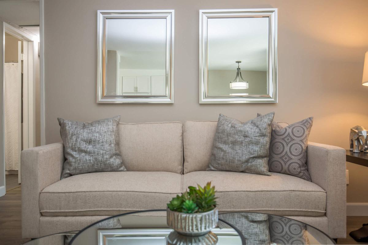 Relax in your living room at 720 Louise