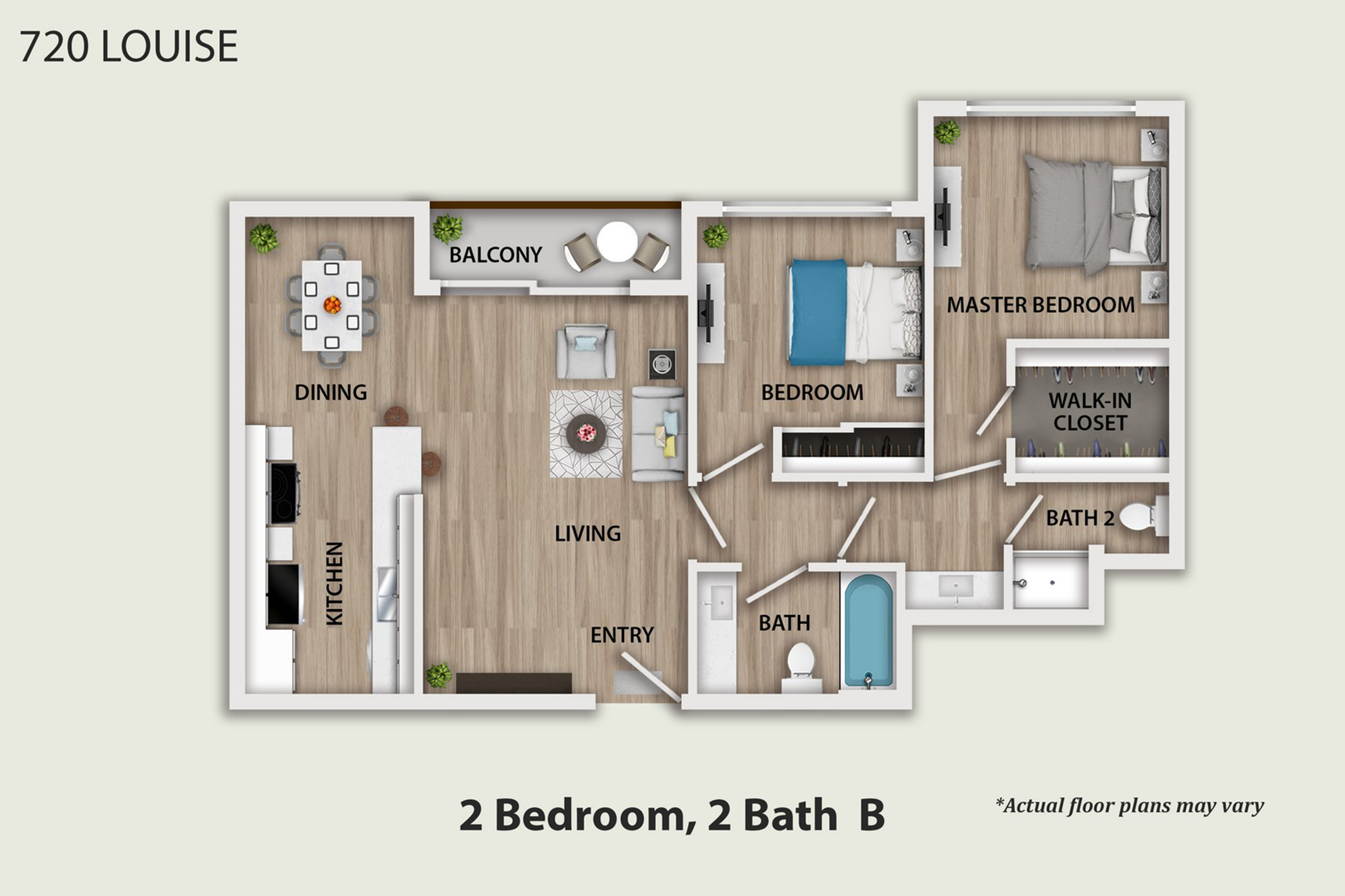 Spacious Two Bedroom Apartments in Glendale CA