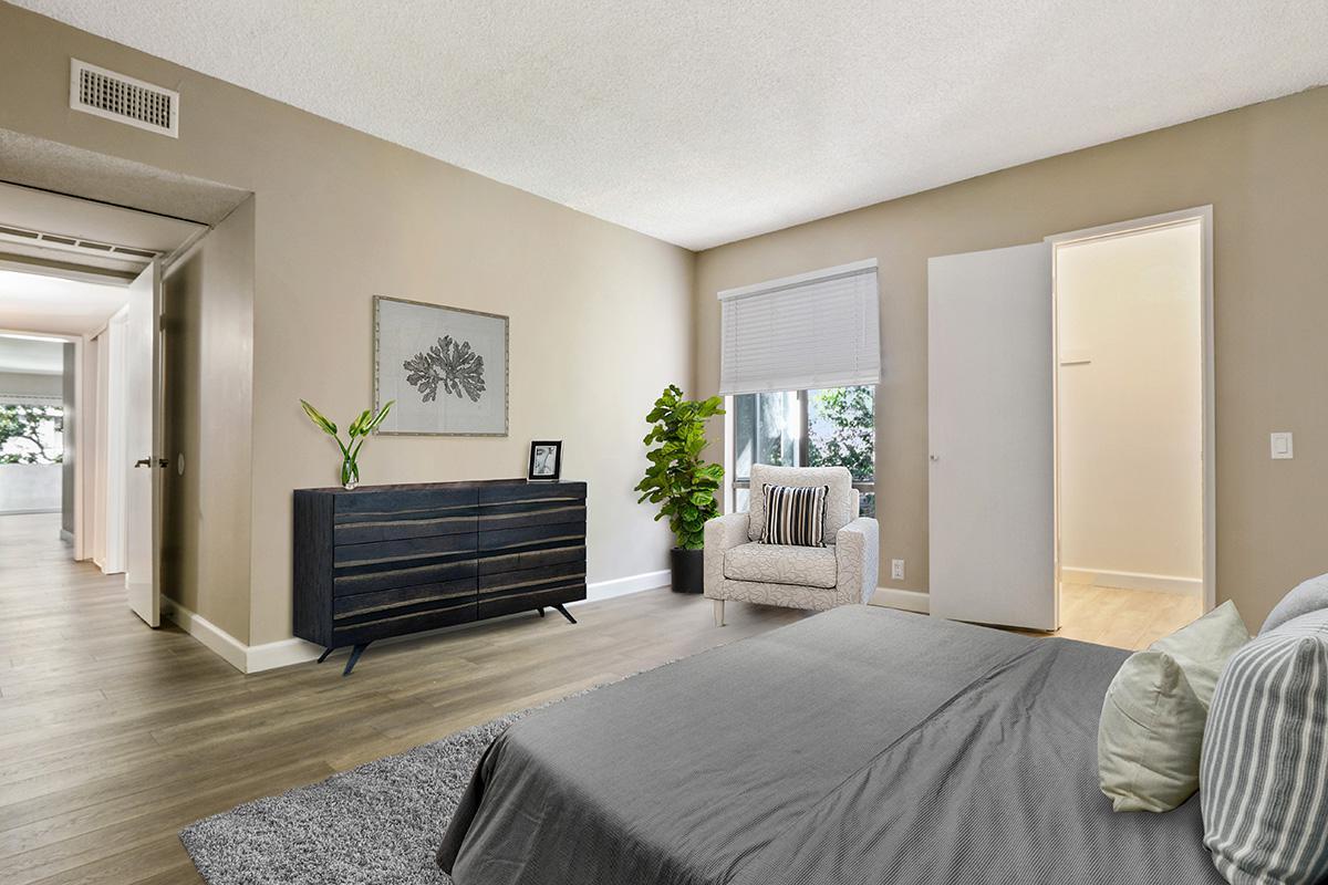 Elegant bedrooms at 720 Louise